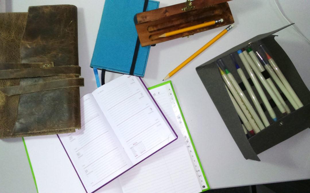 Mit Blog und Bleistift – der Flyer